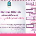 وظائف التشغيل الطلابي للطالبات في جامعة الإمام - الرياض