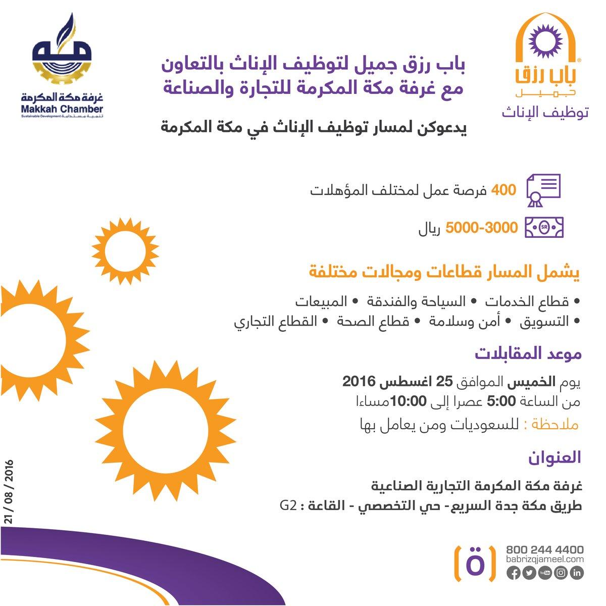 غدا الخميس انطلاق معرض توظيف نسائي - مكة المكرمة