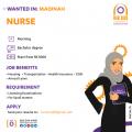مطلوب ممرضة - المدينة المنورة